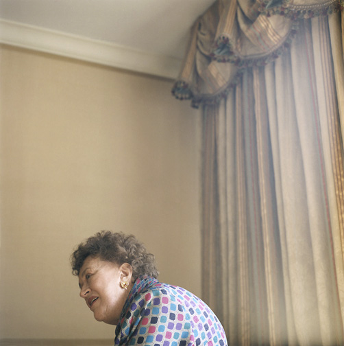 Julia Child, New York, 1994
