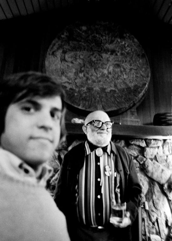 Jim Krantz and Ansel Adams