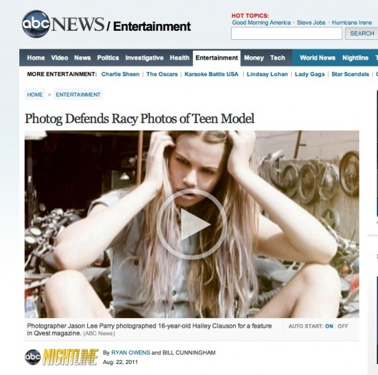 Fashion Photog Sued By Models Parents
