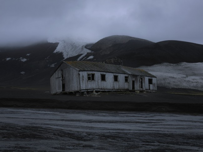 I shot this dilapidated house on Deception Island off the Antarctic Peninsula.