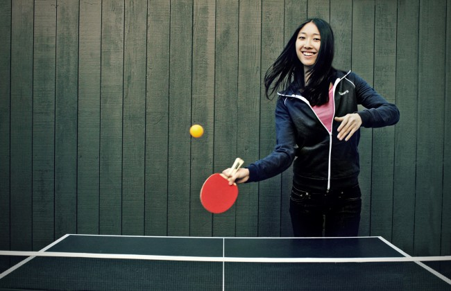 Portrait of Jessica Mah for Silicon Valley Bank. 2/2013