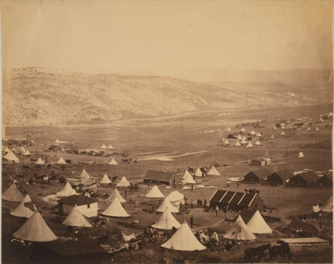 Calvary camp, looking towards Kadikoi