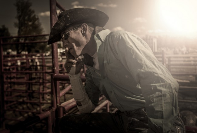 Mike Stoddard.  Rodeo series