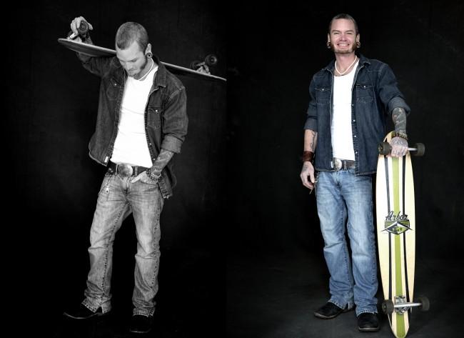 Charlie Vagabond, Skater, Travler