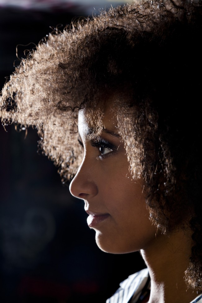 I was so thrilled to photograph Esperanza Spalding.  She was very cool, easy to work with, and personifies Jazz.