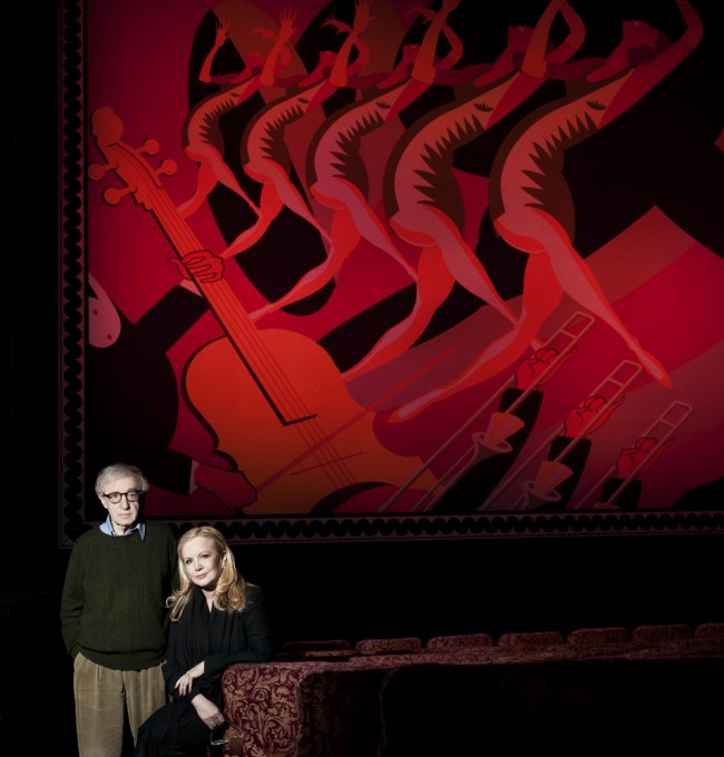 A very recent portrait of director Woody Allen, together with theatre director and choreographer Susan Stroman for TIME Magazine, shot at the St. James Theatre in New York City.