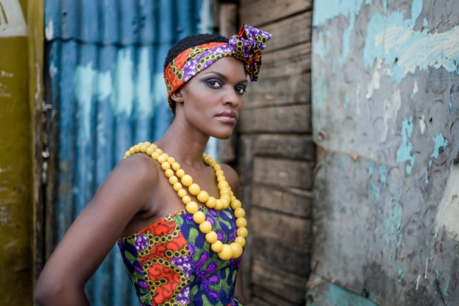 This is from a portrait session I did in the informal settlement. I love her attitude and the colours.
