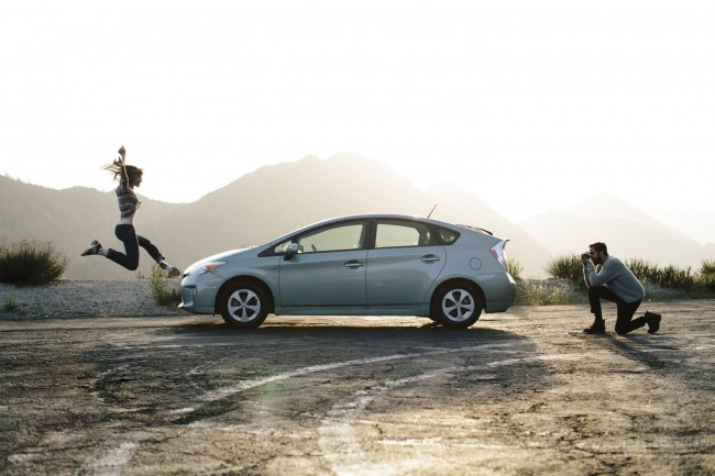 This is another one from the Toyota Prius campaign I shot for Saatchi.
