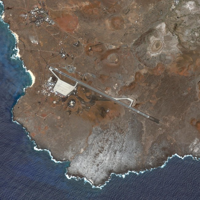 51 US Outposts - Ascension Auxiliary Airfield- Ascension Island, Courtesy of Carroll/Fletcher