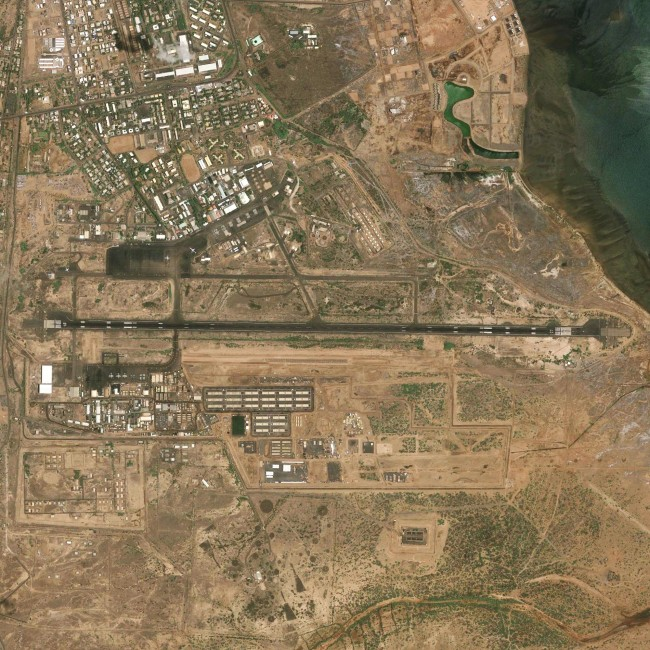 51 US Outposts - Camp Lemonnier- Djibouti, Courtesy of Carroll/Fletcher