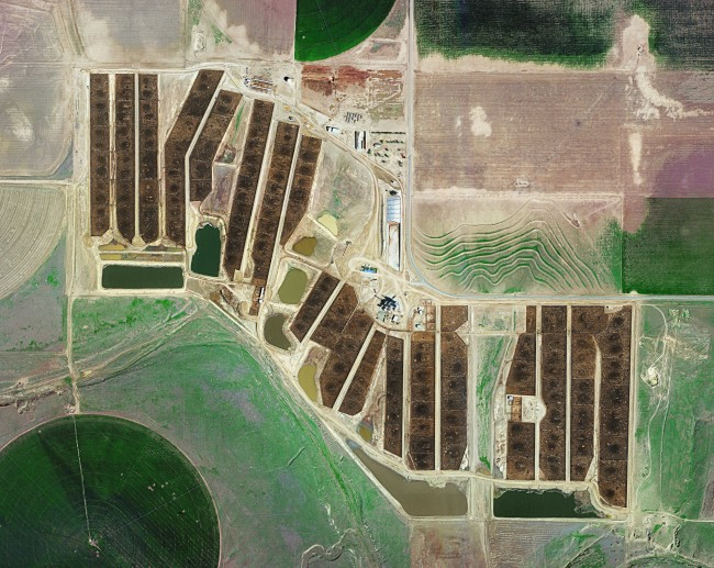 FEEDLOTS - Centerfire Feedyard- Ulysses- Kansas, Courtesy of Carroll/Fletcher