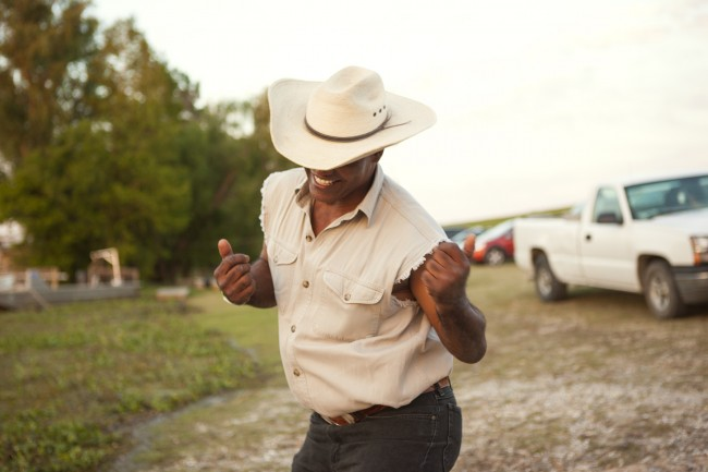 "I danced on the bayou with the inimitable ""Wild Man"" while on assignment for Lonely Planet Traveller in the Louisiana swamps."