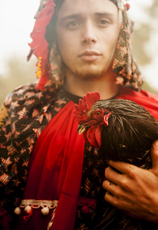 The Cajun version of Mardi Gras (called Courier de Mardi Gras) is absolutely surreal. I found myself running after brightly dressed men (some on horseback) who were chasing after chickens (traditionally destined for communal gumbo) through miles of bayou wetlands.