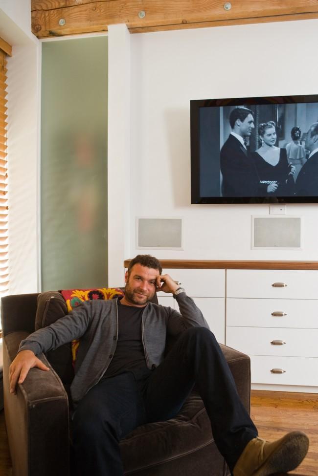 Liev Schreiber at Home