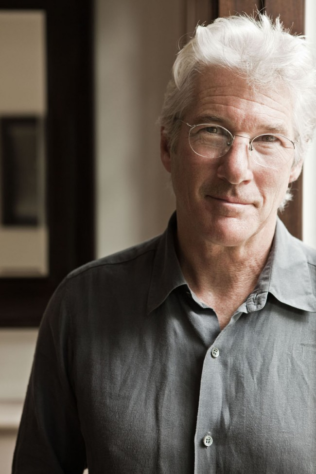Richard Gere at His Restaurant, The Bedford Post