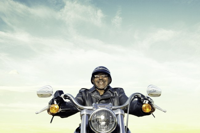 Campaign for Harley Davidson featuring real owners enjoying the thrill of the open road.