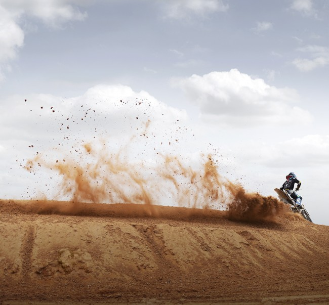 """Dirt Wave"" motocross in the deep south. Part of a personal series featuring contemporary scenes in the South."