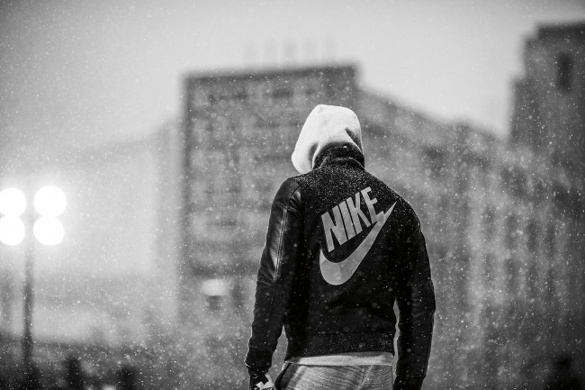 This was part of a shoot for Nike with Doubleday & Cartwright. During the scout we joked about how amazing it would be if it snowed, and it ended up snowing 4–5 inches while we shot. We were very lucky.