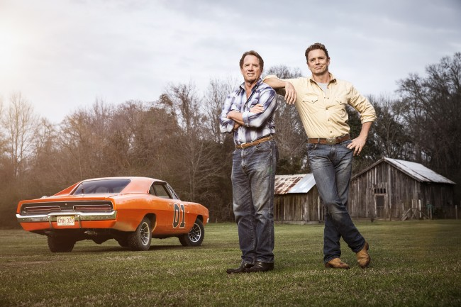 The Duke Boys!! It was a dream come true working with my childhood heroes during this project for Doner and autotrader.com
