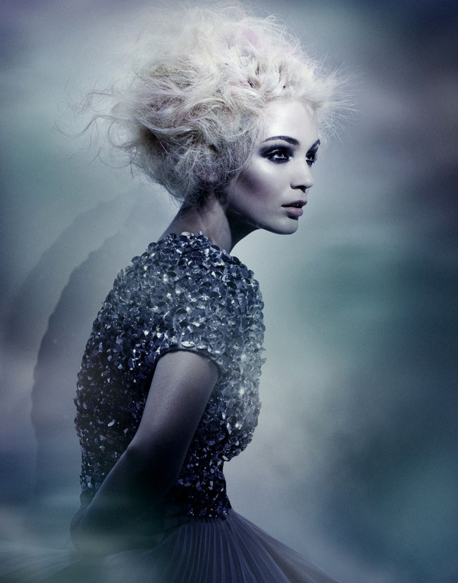 This is one of my recent North American Hair Awards (NAHA) images—an ocean inspired hair story.