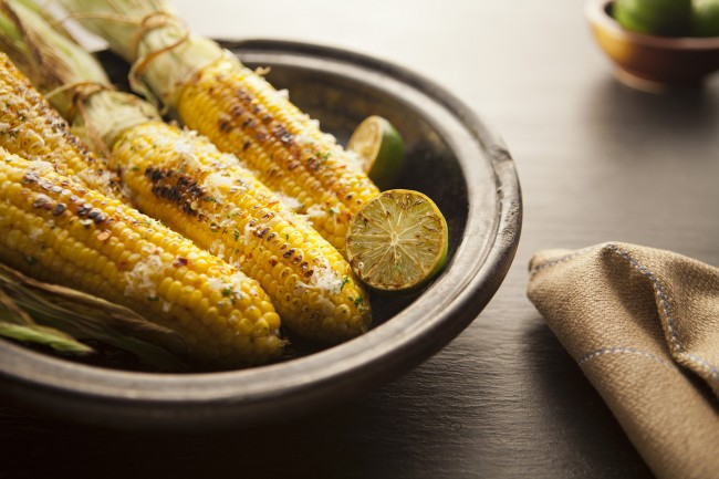 This is a classic summer recipe; the texture of the corn is beautiful.
