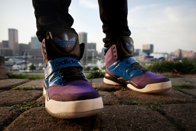 "A project I shot with Adidas for their shoe line, ""Hackmore""."
