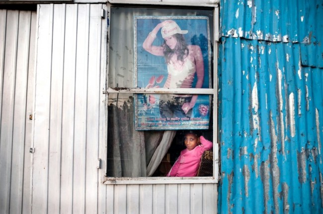 Street portrait, Addis Ababa, Ethiopia.