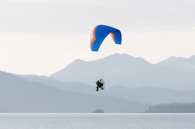 Scott Dickerson, aerial photographer in Alaska.