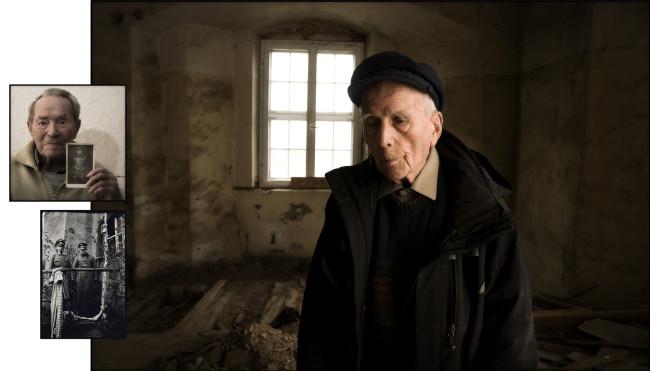 13 Burn, Colditz Castle, met with former prison guard