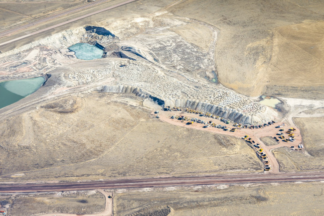 Mine Leftovers, Powder River Basin, WY, 2014