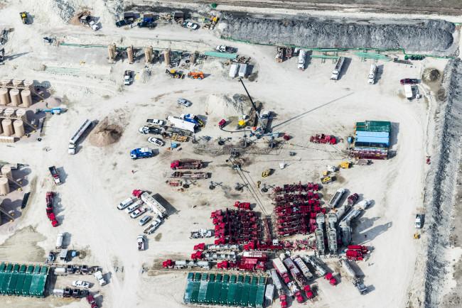 Fracking Fracas, Pawnee Buttes, CO, 2014