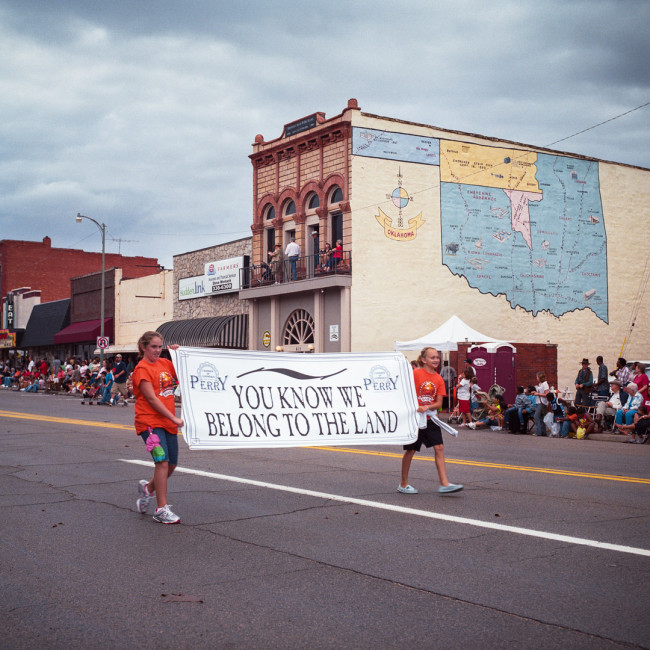Cherokee Strip Parade—Perry