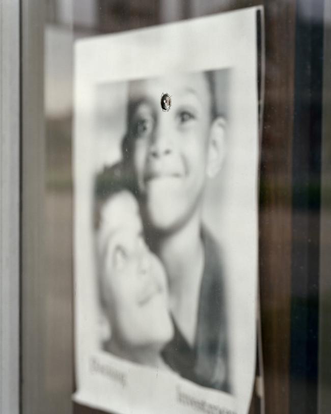 Bullet Hole, Bank Window 001