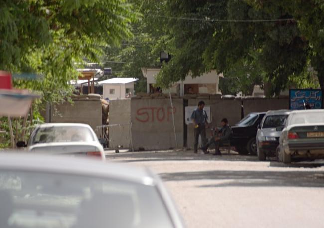 No. 15 Black Site, Kabul, Afghanistan  C-print 2006 Trevor Paglen; Metro Pictures, New York; Altman Siegel, San Francisco