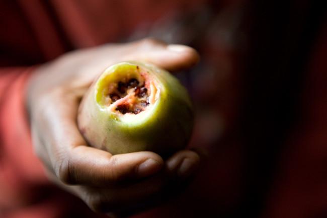 A favorite fruit of Masengesho's.