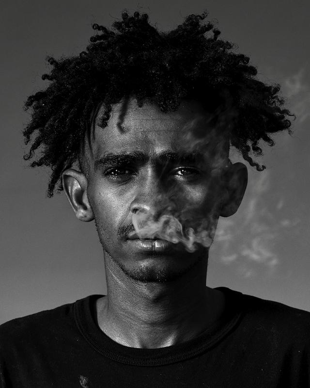 Choque, 27, resident of Cracolândia; São Paulo, Brazil.