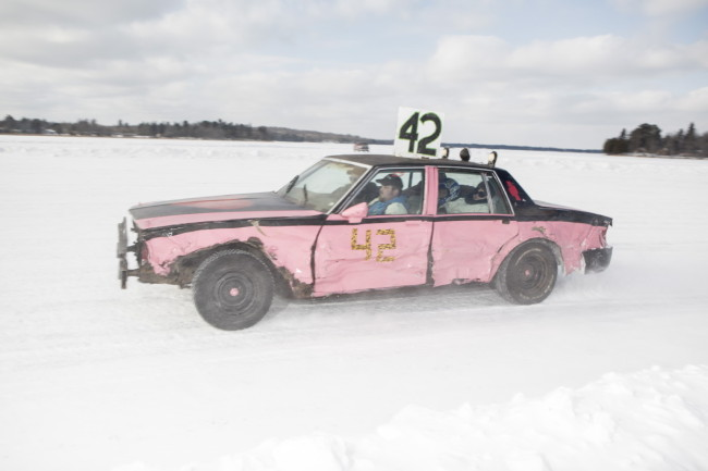 Ice Racing in Minnesota.  Photos by Ackerman + Gruber