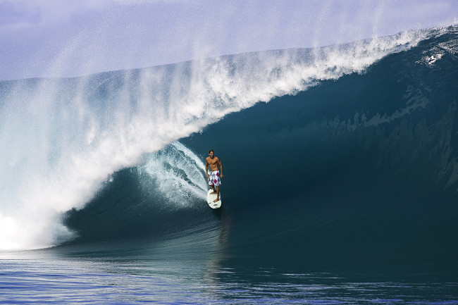 Tow WAVES in Tahiti/2005