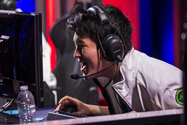 TIP and Team Liquid go head-to-head in the third/fourth place matchup of the North American LCS Playoffs, held in Santa Monica, CA, USA on 18 April, 2015. Team Liquid ran out eventual winners, overcoming their rivals 3-2, twice coming from behind.
