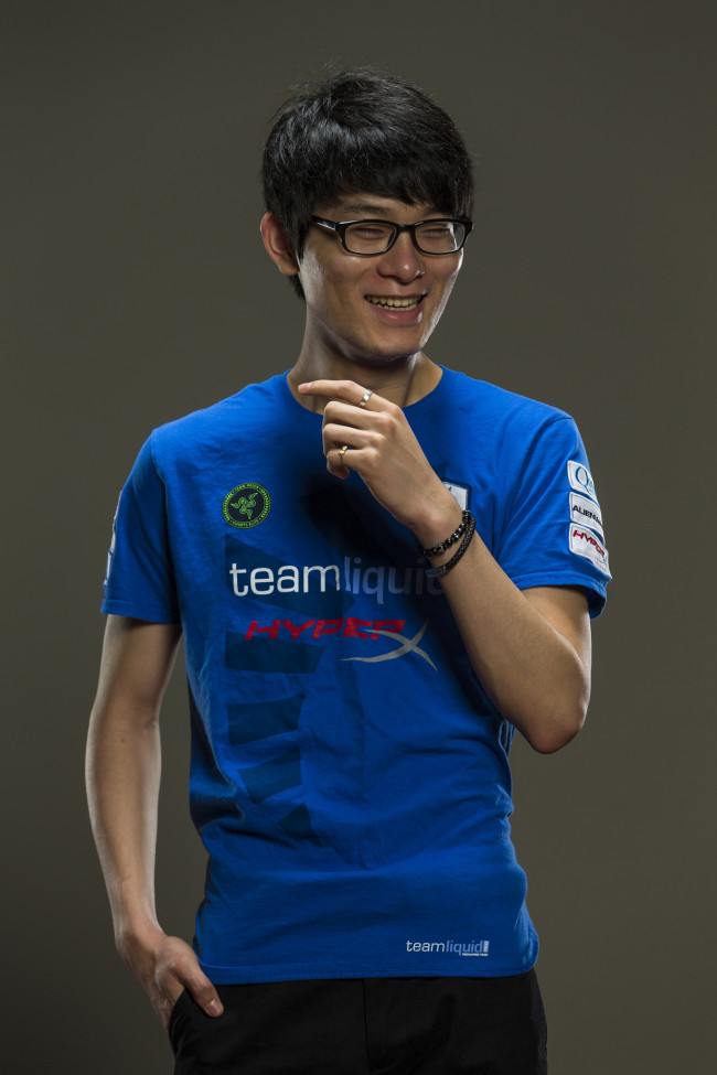"Chae ""Piglet"" Gwang-jin, of Team Liquid, poses for a portrait in Santa Monica, CA, USA on 28 May, 2015."