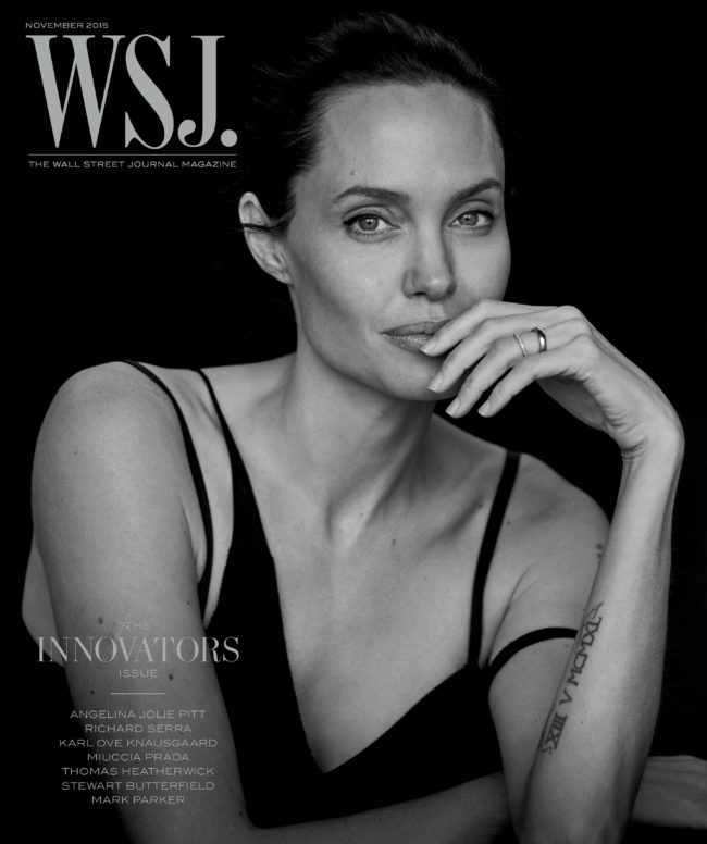 WSJ_November 2015 Angelina Jolie_01_cover