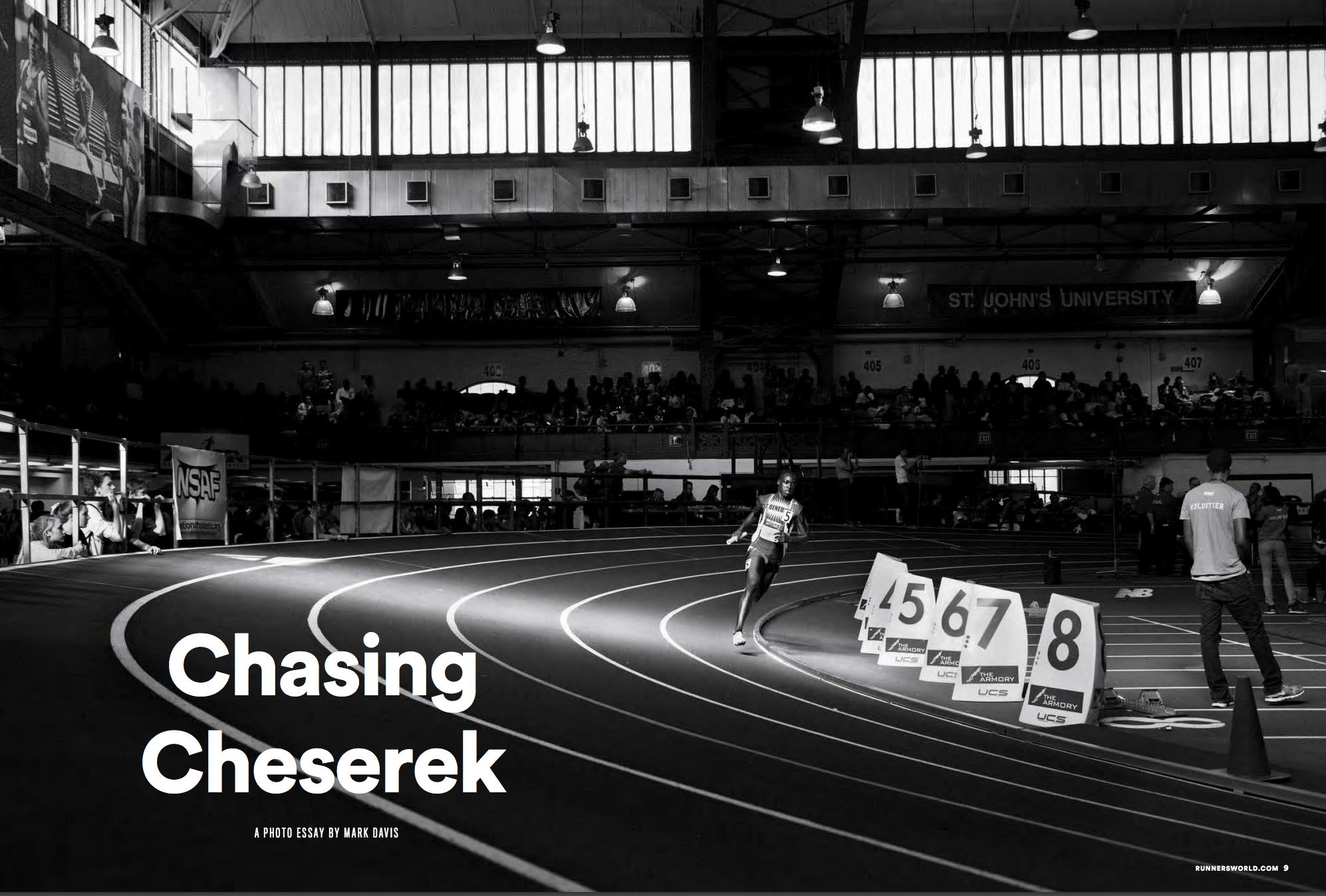 The Daily Edit – Runner's World: Mark Davis