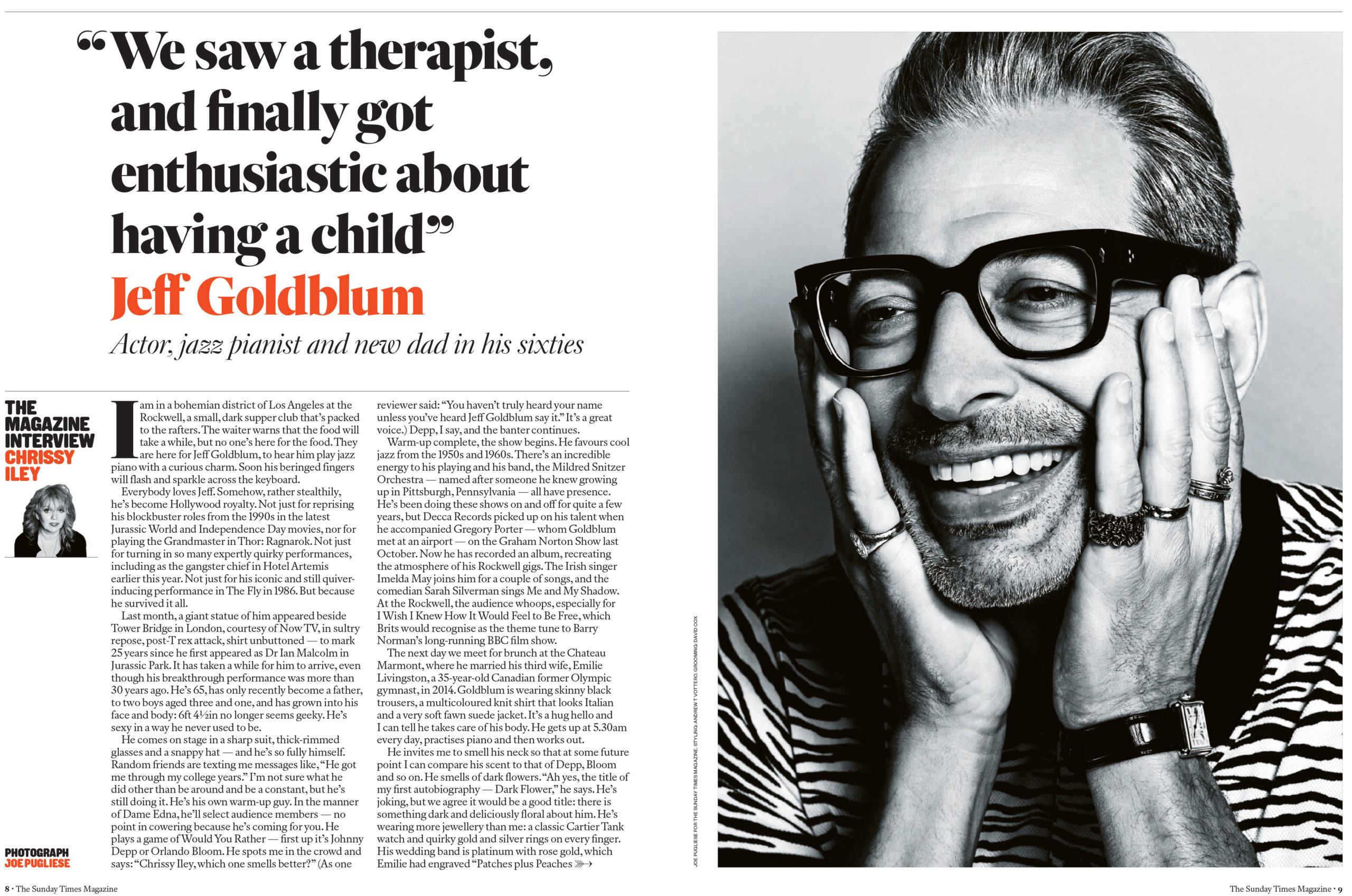 The Daily Edit - The Sunday Times Magazine (London) : Joe